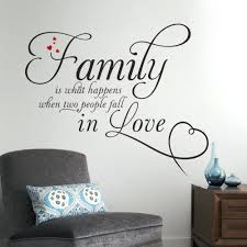 wall  on large vinyl wall decal quotes with wall decal quotes family gutesleben