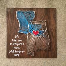 I like this, but not with the string art. & I'd find a different ...