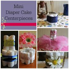 Cute Baby Shower Decorations Diy Baby Shower Centerpieces Using Diapers Frugal Fanatic