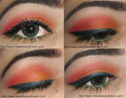 eyes indian eye makeup video simple makeup with summer tutorial orange eye step by