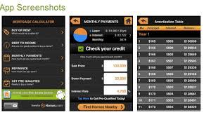 Amortization Calculator Smartphone App
