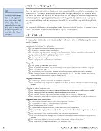 6 6 cover letter writing guide guide to writing cover letters