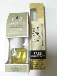 avoplex nail cuticle replenishing oil