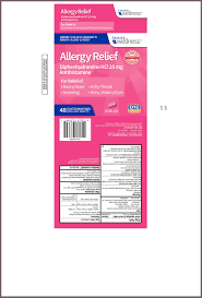Allergy Relief Tablet Film Coated Spirit Pharmaceutical Llc
