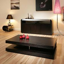 magnificent design modern coffee tables black color wooden table rectangle shape with shelf home furniture awesome ideas of featuring big round dark wood