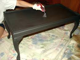 painting coffee table black candle wax chalk paint coffee table black spray paint coffee table black