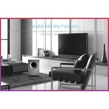 F&D 2.1 TV Soundbar with Wireless Subwoofer, Black - T-388