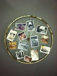 old bicycle wheel picture frame turn an old bicycle wheel turned into a picture frame