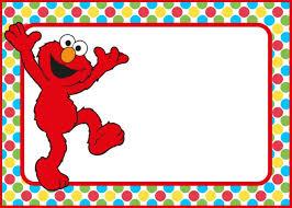 Free Party Invites Templates 12 Printable Elmo Invitations Childrens Favorite Birthday