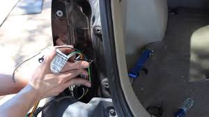 How To Install Trailer Light Connector Installing A Curt 56075 Trailer Wiring Kit For Curt 13650 Hitch