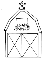Barn Coloring Pages Getcoloringpagescom