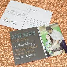 Print Your Own Save The Date Save The Date Postcard Template With Photo Chalkboard Type