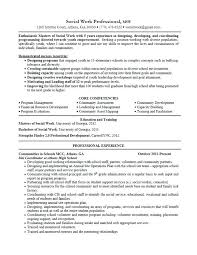 School Social Worker Resume Kordurmoorddinerco Delectable Social Work Resume Skills