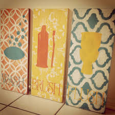 Diy Bathroom Decor Diy Make Your Own Stencil Bathroom Decor Cotton Cottage