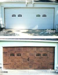 painting aluminum garage door how to paint garage door aluminum faux wood garage door tutorial paint