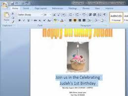 How To Make A Birthday Card On Microsoft Word Gangcraft Net