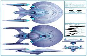 Federation Starship Designs Future Enterprise 1701 Design By Stevenhaack Star Trek
