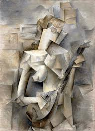 pablo picasso 1910 girl with a mandolin tellier oil on canvas 100 3 x 73 6 cm museum of modern art new york