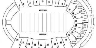 Sun Bowl Stadium Seating Chart Sun Bowl Stadium Map Sun Bowl Seating Map Texas Usa