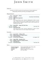 Examples Of High School Student Resume This Is Student Resume Templates High School Student Resume 89