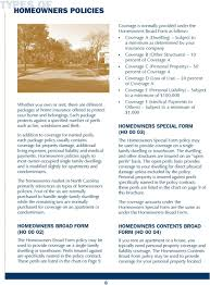 Consumersguide A Consumers Guide To Homeowners Insurance