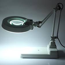 desktop magnifier lamp electronic magnifying glass 220v 22w