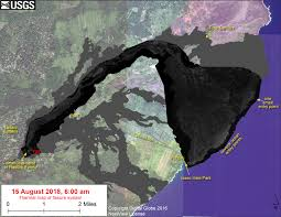 thermal map of the east rift zone on aug 15 2018 to enlarge pc usgs