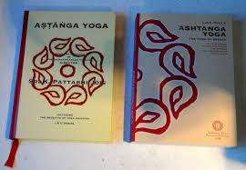substantially thicker as the new book conns all the vinyasa for advanced a and b in the same layout as for the previous book