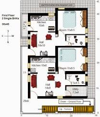 30 x 45 house plans with my little indian villa 39 r32 3houses in 30 45 north facing