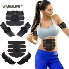 EMS Wireless Muscle Stimulator <b>Smart</b> Fitness Abdominal <b>Training</b> ...