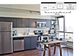 Efficient Kitchen Designs: Single Wall