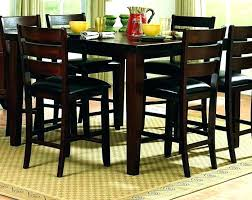 36 x 60 dining table set inch dining table inch high table chairs for inch high