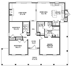 Open Floor Plans For Single Story Modern Shed Homes 3312 Sq Ft Open Floor Plans For One Story Homes