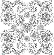 Coloriage Superbes Mandalas Inde Et Patience Elegant Imprimer Une