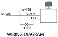 wiring diagram for brinks motion detector flood light fixya Cooper 6107 Wiring Diagram cooper ms34w wont turn off stays on night an day without movment cooper 6107 sensor wiring diagram