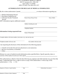 Medical Forms Templates Download Ohio Medical Records Release Form For Free Formtemplate