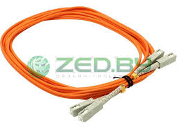 <b>Сетевой кабель VCOM Optical</b> Patch Cord SC-SC UPC Duplex 3m ...