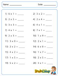 Single Digit Multiplication Worksheets Grade Worksheets for all ...