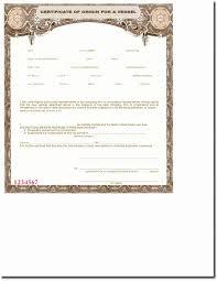 Blank Certificate Of Origin Template Best Of 23 Lovely S Certificate