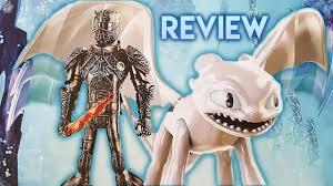 How To Train Your Dragon 3 Playmobil Light Fury Light Fury Hiccup Figure Review How To Train Your Dragon