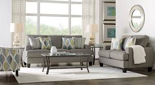 G Cypress Gardens Living Room Set Living Room Set With Dark  Gray Sofa And Loveseat