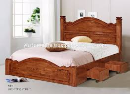 wooden furniture bed design. Wood Double Bed Designs With Box 553 Wooden Furniture Design