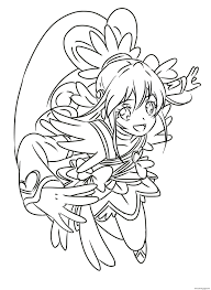 But this is the fun part. Cure Heart Precure Glitter Force Coloring Pages Printable