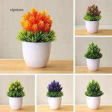 【VIP】<b>Artificial Potted Plant Fake</b> Bonsai Table <b>Simulation</b> Decor for ...