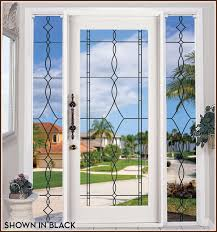allure leaded glass see through