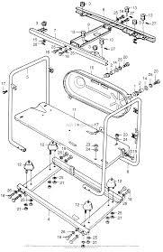 Honda e1500k1 a generator jpn vin e1500 1171001 to e1500 1191630 diagram frame k1 k3