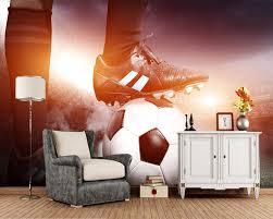 Aliexpresscom Koop Custom Voetbal Behang Vertrappen Voetbal