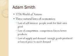 tuesday please get out your essay article to be collected  4 adam smith