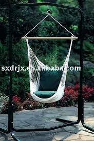 hammock swing chair stand swinging stands throughout hanging with ideas diy