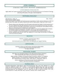 System Analyst Cover Letter Business System Analyst Cover Letter Frankiechannel Com